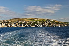 On leaving Stromness (@WineAlchemy1) Tags: stromness orkney islands scotland mainland hoy ferry wake