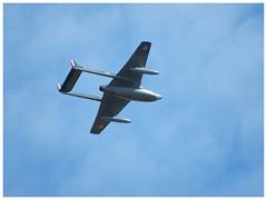 De Havilland Vampire FB.6 (DH-100) - F-AZIK (Aerofossile2012) Tags: dehavilland vampire fb6 dh100 fazik avion aircraft aviation meeting airshow melunvillaroche airlegend2018