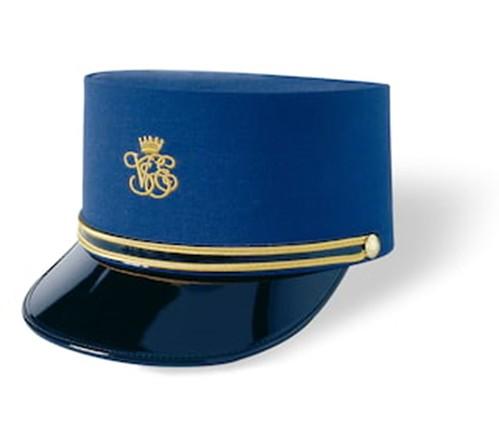 Venice Simplon-Orient-Express steward's cap