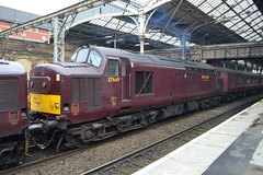 West Coast Railways 37518 - 37706 - 37669 (Will Swain) Tags: county uk travel west station train coast britain country north transport rail railway august trains lancashire vehicles vehicle preston 11th railways 2019 37518 37669 from tractor crewe lancaster 37 tri 518 669 tripple wcr 706 37706 england class town cheshire