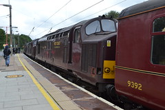 West Coast Railways 37518 - 37706 - 37669 (Will Swain) Tags: preston station 11th august 2019 lancashire north west train trains rail railway railways transport travel uk britain vehicle vehicles county country coast 37518 37669 37706 669 706 518 37 tri tripple tractor from crewe lancaster wcr england class cheshire town