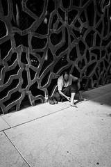 MARSEILLE-MUCEM-21 (eljuz) Tags: marseille mucem architecture contraste france noiretblanc nb bw contrast lumière musée ombre leicaq leica