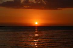 When the sun goes down.... (Lara.C.) Tags: sunset sea sun nature water fireball whenthesungoesdown thebeautyofnature mauritius