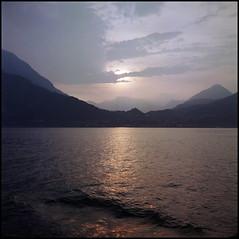 Rolleis Lake Como Experience 2019 (604) (Hans Kerensky) Tags: rolleiflex 35c 6x6 tlr fujifilm pro 160ns scanner plustek opticfilm 120 menaggio lake como italy 2019 semi sunset