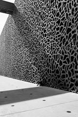 MARSEILLE-MUCEM-22 (eljuz) Tags: marseille mucem architecture contraste france noiretblanc nb bw contrast lumière musée ombre leicaq leica