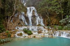 Laos – Kuang Si Falls (Thomas Mulchi) Tags: kuangsifalls laos luangprabang kuangxi tatkuangsiwaterfalls waterfall waterfalls 2019 water forest tree trees pool waterpool river hill banmuangkhay luangprabangprovince happyplanet asiafavorites