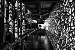 MARSEILLE-MUCEM-15 (eljuz) Tags: marseille mucem architecture contraste france noiretblanc nb bw contrast lumière musée ombre leicaq leica