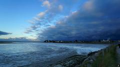 PAYSAGES DE PICARDIE 174 (aittouarsalain) Tags: picardie landscape paysage crotoy lagune baie nuages ciel aurore matin