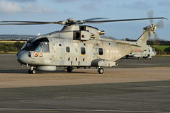 Merlin HM2,  ZH856 (WestwardPM) Tags: merlinhm2 zh856 royalnavy fleetairarm newquayairport cornwallairportnewquay agusta westland eh101