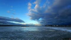 PAYSAGES DE PICARDIE 175 (aittouarsalain) Tags: picardie landscape paysage baie lagune matin crotoy aube aurore nuages ciel