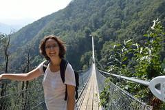 Pont Tibetà prop de Curzutt (JM Portos) Tags: suïssa ponttibetà muntanya