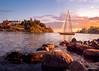 summer time (Joni Salama) Tags: suomi finland helsinki meri maisema vesi eira kesä luonto vene uusimaa etelähelsinki sunset sea summer seascape landscape boat auringonlasku