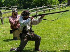 IMGPL05275_Fk - Spring Mill State Park - Civil War Days (David L. Black) Tags: mitchell indiana unitedstatesofamerica stateparks springmillstatepark civilwarreenactment olympusomdem1x olympus40150f2814xtc