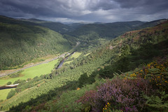 'Precipice walk, Ganllwyd, North Wales' {Explored 07/09/19) (Meurig2011) Tags: snwodonianationalpark rivers roads heather hills sky wales gwynedd clouds