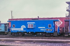A New Gorilla Cage (douglilly) Tags: conrail caboose niagarafalls