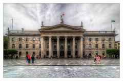 Dublin IR - General Post Office (Daniel Mennerich) Tags: dublingeneralpostoffice sublin post office ireland anpost gpo canon dslr eos hdr hdri spiegelreflexkamera slr eire irland éire irlande ирландия irlanda
