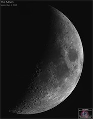 Tonight's Moon - September 4, 2019 (The Dark Side Observatory) Tags: tomwildoner night sky space outerspace skywatcher telescope esprit 120mm apo refractor celestron cgemdx asi290mc zwo astronomy astronomer science canon crater moon lunar weatherly pennsylvania observatory darksideobservatory tdsobservatory solarsystem earthskyscience