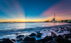 Dream time/Tamsui (Changyou Lee) Tags: taiwan taipei 台灣 新北市 淡水 漁人碼頭 sunset 夕陽 coast outside sea 油車口 霞光