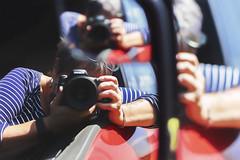 multifaceted (rockinmonique) Tags: me portrait reflections moniquewphotography canon canont6s tamron tamron45mm copyright2019moniquewphotography