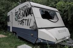 Abandoned trailer 01 (Irmzaq photography) Tags: photography abandoned abandonedphotography abandonedtrailer forgotten broken