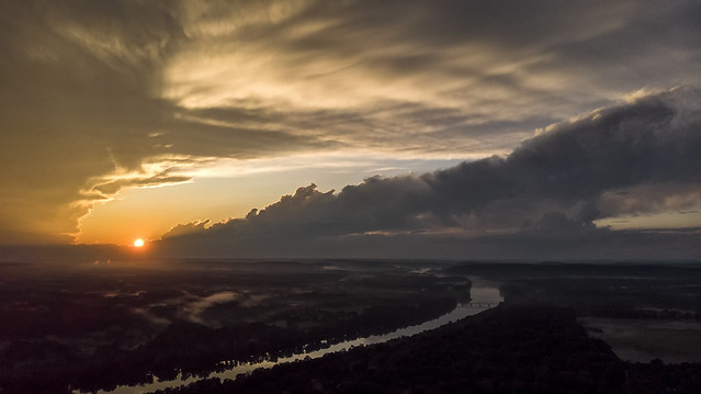 drone sunset aerialphotography cloudscapes