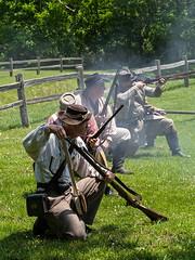 IMGPL05277_Fk - Spring Mill State Park - Civil War Days (David L. Black) Tags: mitchell indiana unitedstatesofamerica stateparks springmillstatepark civilwarreenactment olympusomdem1x olympus40150f2814xtc