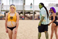 """Quote the Raven """"WTF"""" (_piscesphotographer) Tags: canon canont3i cosplay teentitans"""