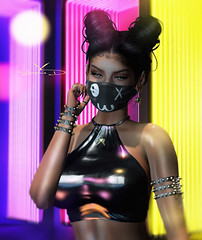 # ♥1207 (sophieso.demonia) Tags: moon hair revoul re the arcade fifty linden fridays cynful