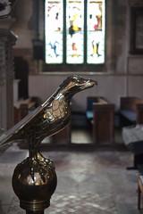 The Unflinching Gaze (mitchell_dawn) Tags: church lectern eagle broughton churchofstmary