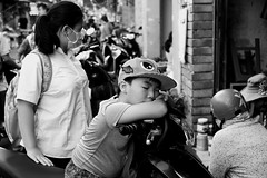 . (Out to Lunch) Tags: alley saigon ho chi minh city vietnam monochrome blackwhte street closeup 35mm urban urbanite market people daily life fuji xh2 zeiss biogon 235 manual focus happyplanet asiafavorites