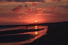 Sunset in Denmark (Joerg Dylewski) Tags: sommer sky summer sun sonne sunset sonnenuntergang stimmung abend wolken clouds wasser water denmark dänemark dämmerung nikon natur nature nordsee northsea n