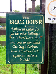 Brick House, Eyam 2019 (Dave_Johnson) Tags: eyam plaguevillage plague blackdeath derbyshire brickhouse brick house redbrick stagsparlour inn peakdistrict