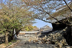 Kumamoto castle (Bakuman3188) Tags: kumamoto castle japan building burg gebäude zerstört destroyed earthquake erdbeben architecture architektur 熊本 城 日本 建物 地震 木