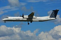 C-GLQR (Porter Airlines) (Steelhead 2010) Tags: porterairlines bombardier dhc8 dhc8q400 yow creg cglqr