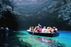 'Blinded By The Light' (mahazda) Tags: blue lake water canon island greek eos boat tourist clear greece cave kefalonia attraction cephalonia melissani 80d mahazda