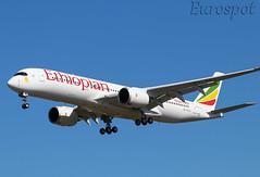 F-WZNF #Airbus #A350 #Ethiopian (@Eurospot) Tags: etawo fwznf airbus a350 a350900 ethiopian toulouse blagnac
