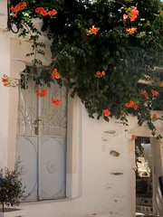 """Beautiful things don't ask for attention..."" (fl_mala) Tags: greece parosisland cyclades ilovegreece traveltogreece greekislands discovergreece island lovenature lifeisbetterontheisland wonderfulworld doors flowers beautifulcolours"