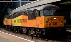 Class 56: 56049 + 56087 Colas Rail Freight  Newcastle Central (emdjt42) Tags: colasrailfreight class56 56049 56087 newcastlecentral