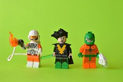 Rogues (th_squirrel) Tags: lego dc comics flash rogues heatwave weather wizard mirror master minifig minifigure minifigs minifigures
