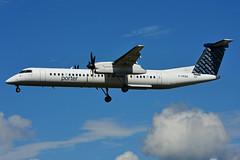 C-GKQA (Porter Airlines (Steelhead 2010) Tags: porterairlines bombardier dhc8 dhc8q400 yow creg cgkqa