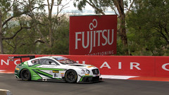 Big Bentleys (2 of 2) (Jungle Jack Movements (ferroequinologist) all righ) Tags: bentley v8 continental gt3 team m sport jarvis kane smith soucek soulet abril reid park mount panorama bathurst 1000 12 hour nsw new south wales australia motor racing pass race speed car cars hottie track practice pole position times timing hard competition event saloon sports racer driver mechanic engine oil petrol build fast faster fastest grid circuit drive helmet marshal starter sponsor number class motorsport classic moffat brock brit british uk