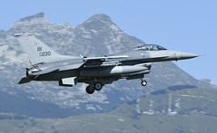 "F-16CM AV 89-2030, 510th Fighter Squadron Flag ship ""Buzzards"" Aviano AFB, Italy (TAIRNGREACHT_BAS) Tags: usaf f16c block40 viper aviano"