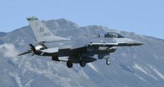 "F-16DM AV 90-0800, 555th Fighter Squadron ""Triple Nickel"" Aviano AFB, Italy (TAIRNGREACHT_BAS) Tags: usaf f16c block40 viper aviano"