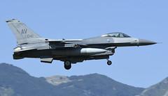 "F-16CM AV 89-2041, 555th Fighter Squadron ""Triple Nickel"" Aviano AFB, Italy (TAIRNGREACHT_BAS) Tags: usaf f16c block40 viper aviano"