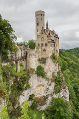 tophill Lichtenstein Castle and forest (arnaud_martinez) Tags: blue city germany hill hohenzollern ii jura lichtenstein neckar neuschwanstein sky summer swabian architecture bastion bavaria building castle chapel cinderella count domination emîre forest fortress fussen garden gate gothic hilltop historical house ludwig military mountain orange palace palacial revival river romances standing stones stuttgart touristic towers trees valley victorian war
