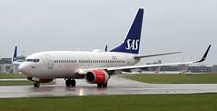 LN-TUJ (PrestwickAirportPhotography) Tags: egcc manchester airport scandinavian airlines sas boeing 737 b737 lntuj
