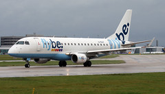 G-FBJF (PrestwickAirportPhotography) Tags: egcc manchester airport flybe embraer emb175 gfbjf