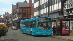 Another gets the refresh (Efan Thomas Bus Spotting Photography) Tags: arriva buses wales wrightbus vdl sb200 cx07cva 2661