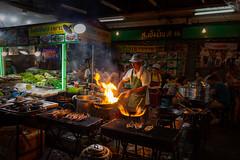 Street Food... (Jörg Kage) Tags: asien thailand bangkok travel reisen food streetfood canon eos700d feuer fire flamme chinatown southeastasia essen canoneos700d canonlens