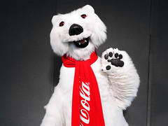 Coca-Cola Polar Bear (meeko_) Tags: cocacola polar bear polarbear cocacolapolarbear mascot characters cocacolastore shop towncenter spring disneysprings walt disney world waltdisneyworld florida 2019sept